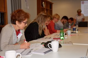 Pre-Pilot July 2016 16 Small Charities in Attendance